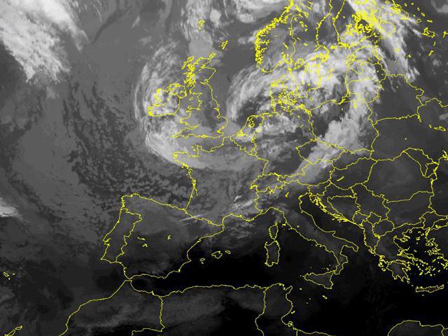 Immagini satellitari Centro Meteorologico Lombardo